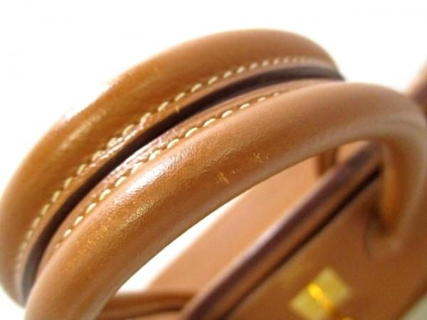 エルメス ハンドバッグ美品  バーキン35 ゴールド ゴールド金具 トゴ 7