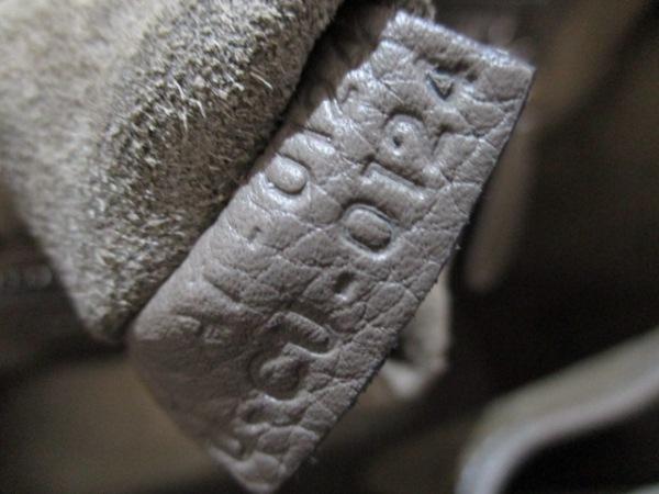 セリーヌ トートバッグ美品  ラゲージマイクロショッパー グレー 7