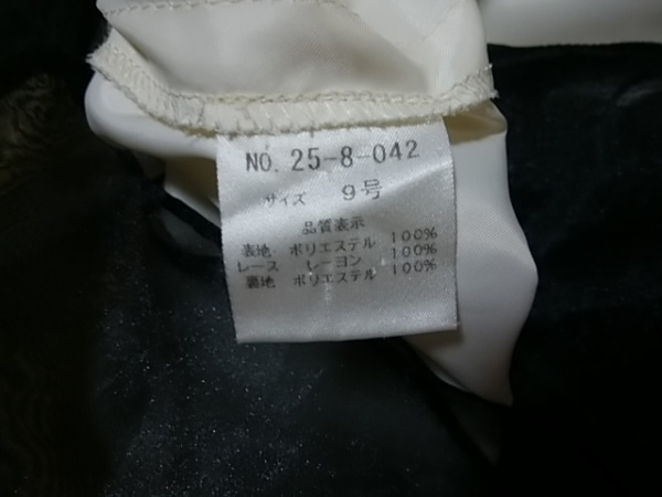 エメ ドレス サイズ9 M レディース アイボリー×ピンク×マルチ 花柄 4