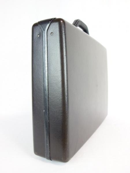 サムソナイト アタッシュケース ダークブラウン 化学繊維×金属素材 2
