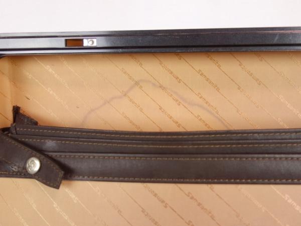 サムソナイト アタッシュケース ダークブラウン 化学繊維×金属素材 9