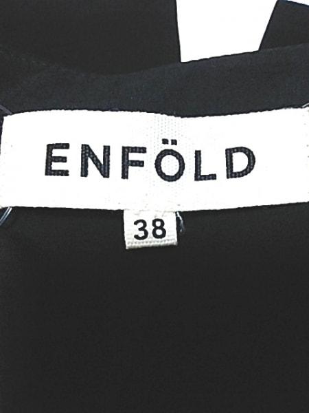 エンフォルド ノースリーブカットソー サイズ38 M レディース 黒 3