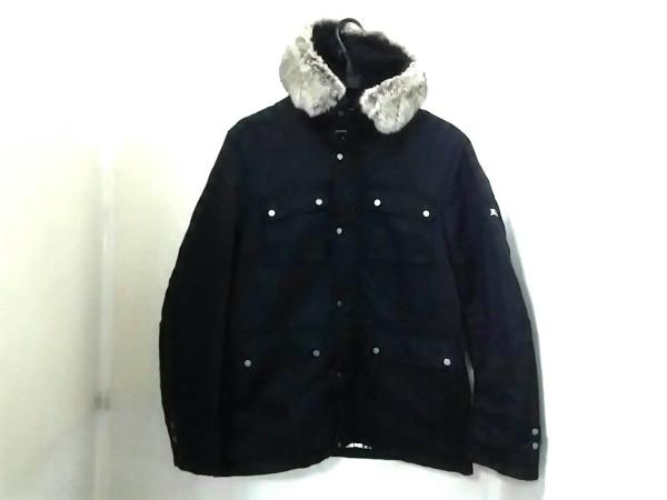 バーバリーブラックレーベル コート サイズM メンズ美品  黒 冬物 0