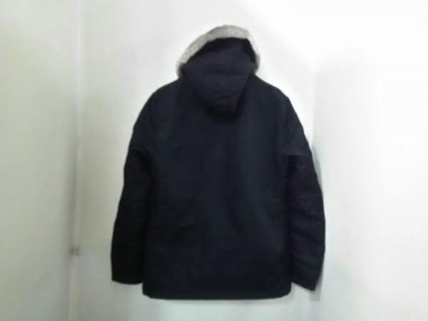 バーバリーブラックレーベル コート サイズM メンズ美品  黒 冬物 2