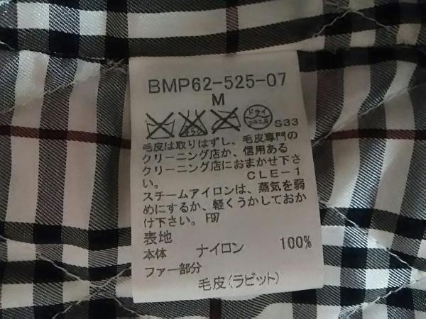 バーバリーブラックレーベル コート サイズM メンズ美品  黒 冬物 4