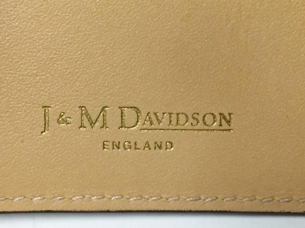 J&MDavidson(ジェイ&エムデヴィッドソン) 名刺入れ 白 レザー 4