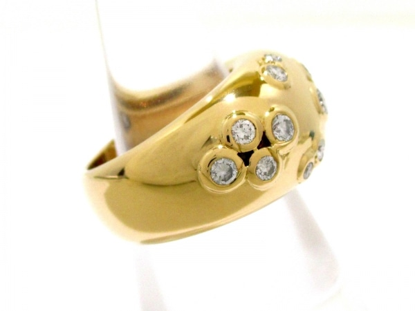 カルティエ リング 53美品  ヌーベルバーグ K18YG×ダイヤモンド 2