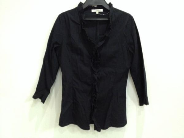 ナラカミーチェ 七分袖シャツブラウス サイズI S レディース 黒 0
