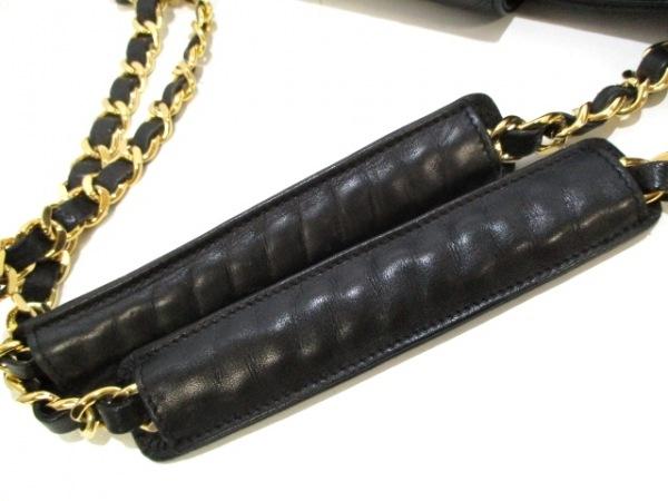 シャネル ショルダーバッグ美品  スーパーモデル/ビコローレ 黒 8