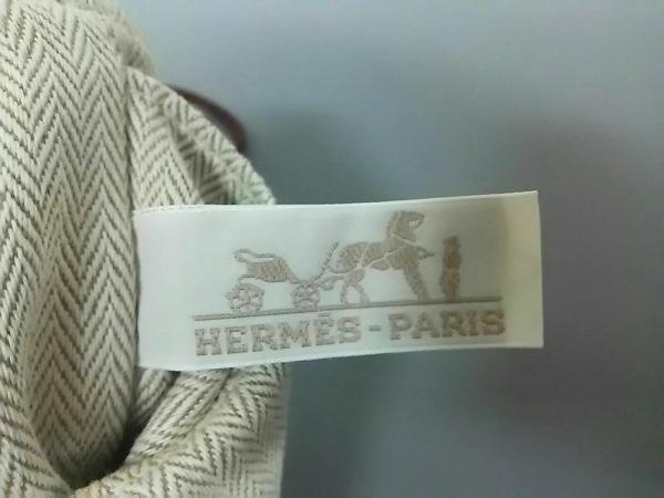 HERMES(エルメス) ポーチ フールビ20 ベージュ バッグインバッグ 5