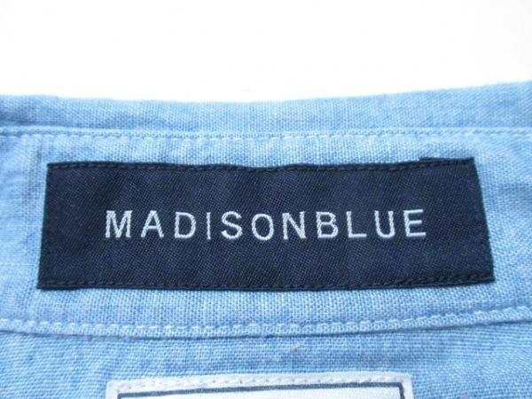 マディソンブルー 長袖シャツブラウス サイズ1 S レディース デニム 3
