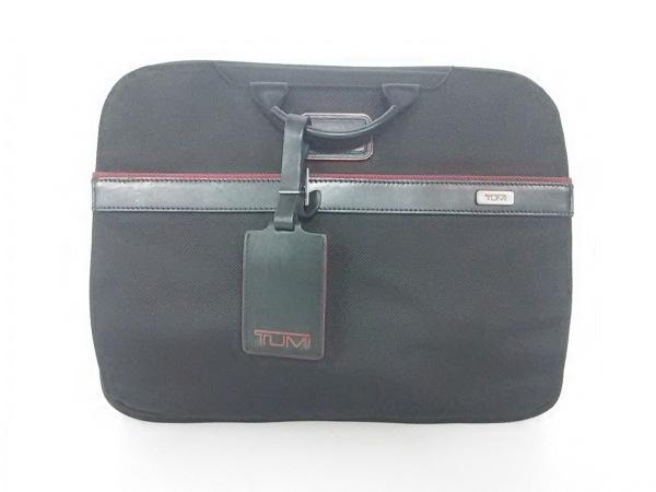 TUMI(トゥミ) バッグ 26806DRH 黒×レッド PCケース/JALコラボ 0
