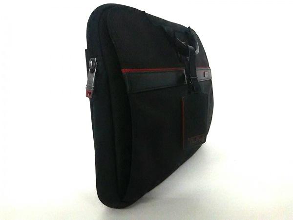 TUMI(トゥミ) バッグ 26806DRH 黒×レッド PCケース/JALコラボ 2