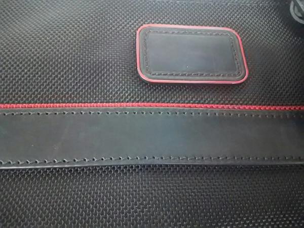TUMI(トゥミ) バッグ 26806DRH 黒×レッド PCケース/JALコラボ 8