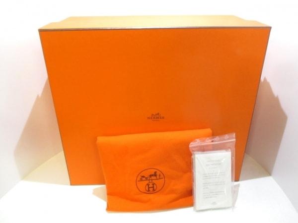 エルメス ハンドバッグ バーキン40 グラファイト シルバー金具 9