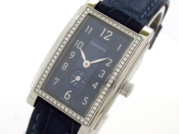 ティファニー 腕時計 グランド 19474623 レディース ネイビー 0