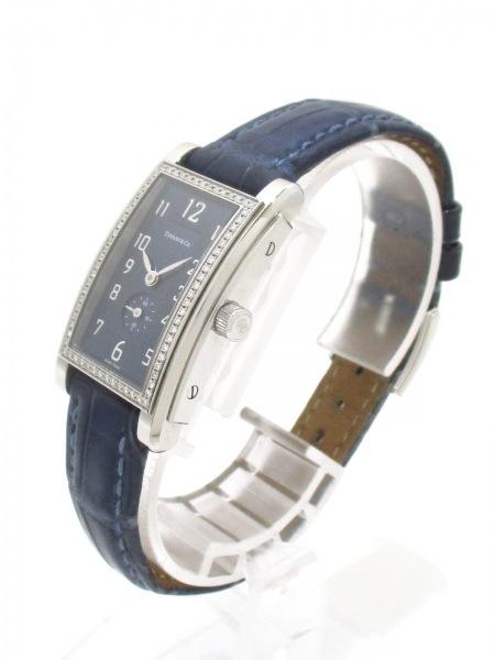 ティファニー 腕時計 グランド 19474623 レディース ネイビー 2