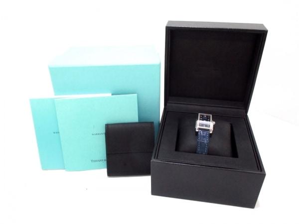 ティファニー 腕時計 グランド 19474623 レディース ネイビー 9