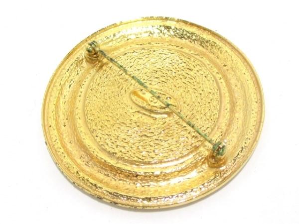 CHANEL(シャネル) ブローチ 金属素材 ゴールド 2