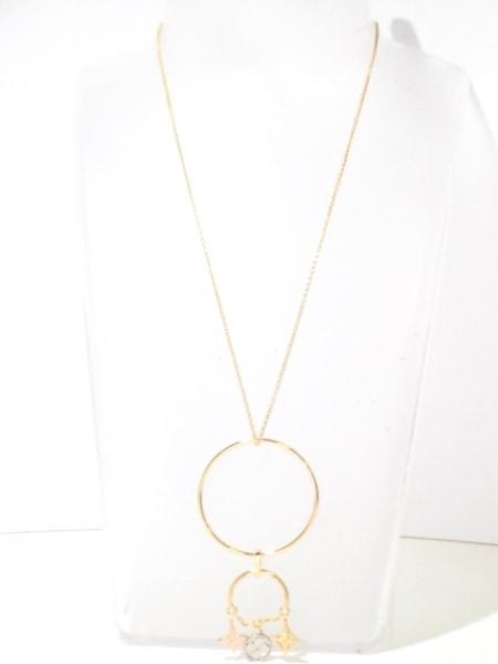 ルイヴィトン ネックレス美品  K18スリーカラー×ダイヤモンド 2