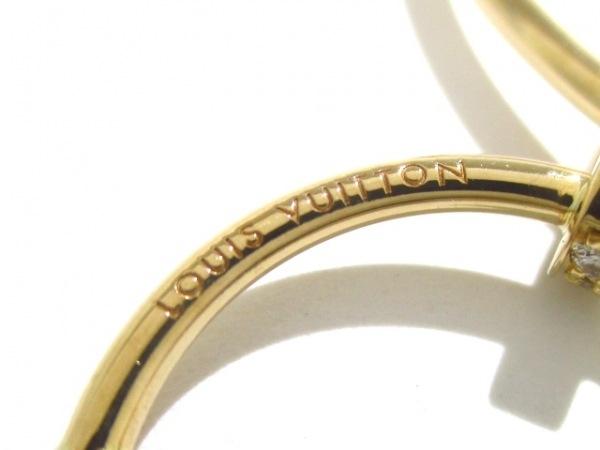 ルイヴィトン ネックレス美品  K18スリーカラー×ダイヤモンド 5