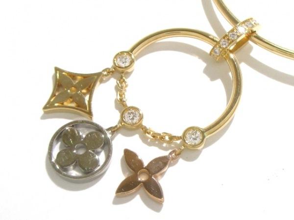 ルイヴィトン ネックレス美品  K18スリーカラー×ダイヤモンド 7