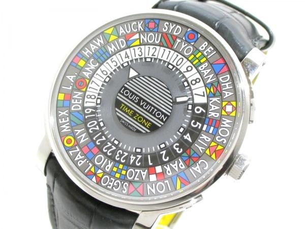 ヴィトン 腕時計 エスカルタイムゾーン Q5D20/Q5D200 メンズ 0