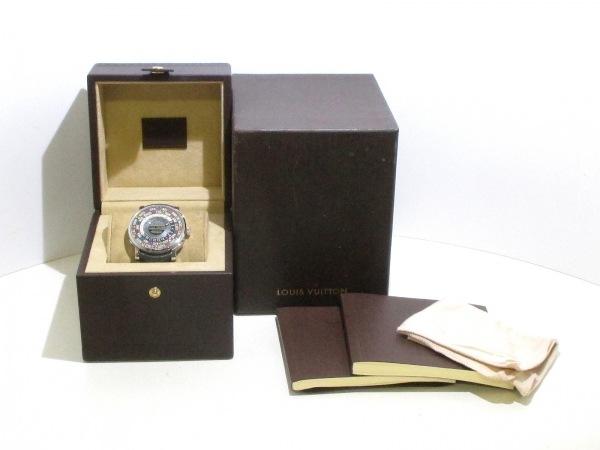 ヴィトン 腕時計 エスカルタイムゾーン Q5D20/Q5D200 メンズ 8