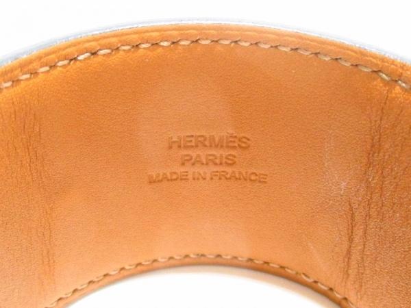 エルメス ブレスレット美品  コリエドシアン 黒×シルバー サイズ:S 5