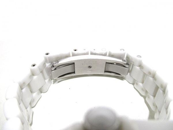シャネル 腕時計 J12 GMT H3103 メンズ ホワイトセラミック/38mm 白 4