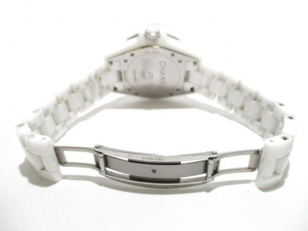 シャネル 腕時計 J12 GMT H3103 メンズ ホワイトセラミック/38mm 白 5