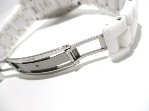 シャネル 腕時計 J12 GMT H3103 メンズ ホワイトセラミック/38mm 白 6