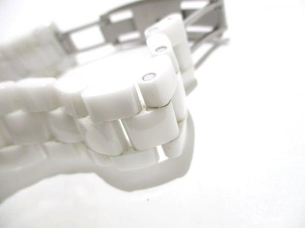 シャネル 腕時計 J12 GMT H3103 メンズ ホワイトセラミック/38mm 白 8