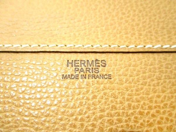 HERMES(エルメス) ビジネスバッグ エールライトMM ナチュラル 6