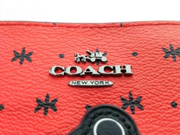 COACH(コーチ) リストレット新品同様  F59530 レッド×黒 4