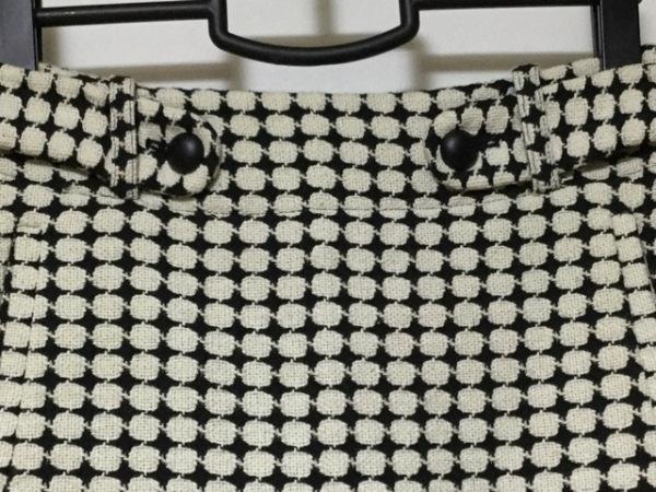 バナナリパブリック スカートスーツ レディース美品  アイボリー×黒 7