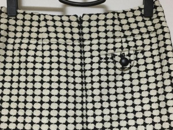 バナナリパブリック スカートスーツ レディース美品  アイボリー×黒 8