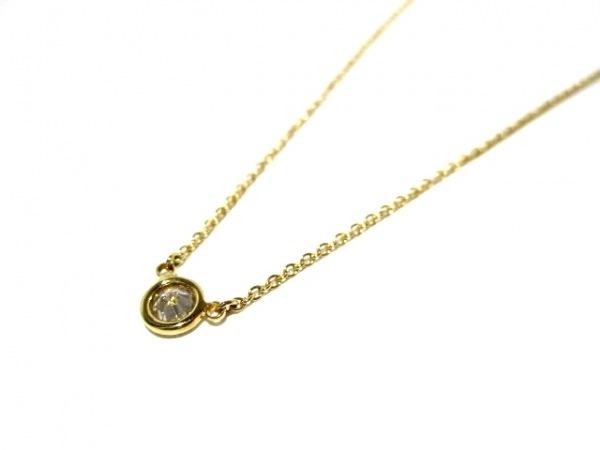 ティファニー ネックレス美品  バイザヤード K18YG×ダイヤモンド 3