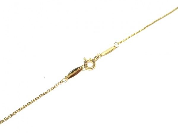 ティファニー ネックレス美品  バイザヤード K18YG×ダイヤモンド 4