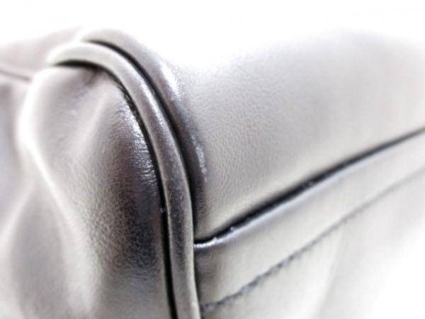 PRADA(プラダ) ハンドバッグ インサイドバッグ 1BB010 黒×シルバー 7