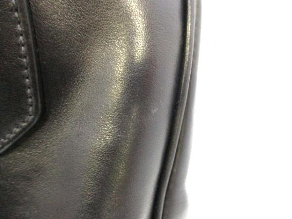 PRADA(プラダ) ハンドバッグ インサイドバッグ 1BB010 黒×シルバー 8