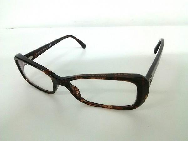 CHANEL(シャネル) メガネ 3188 クリア×ダークブラウン プラスチック 0