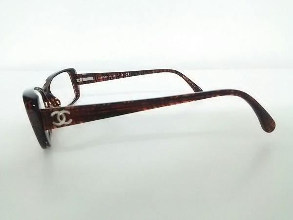 CHANEL(シャネル) メガネ 3188 クリア×ダークブラウン プラスチック 2