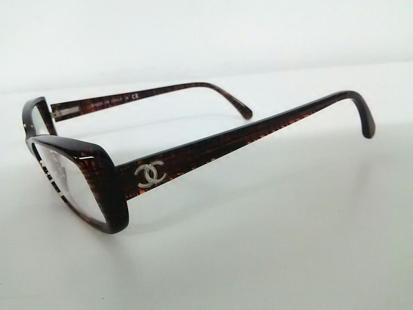 CHANEL(シャネル) メガネ 3188 クリア×ダークブラウン プラスチック 8