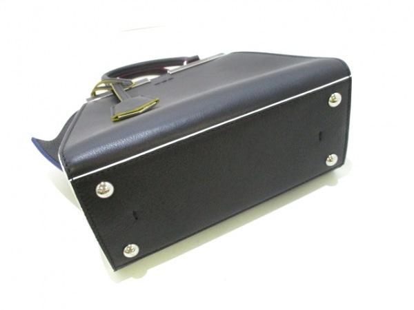 フェンディ ハンドバッグ美品  プチトロワジュール 8BH333-5C3 黒 4