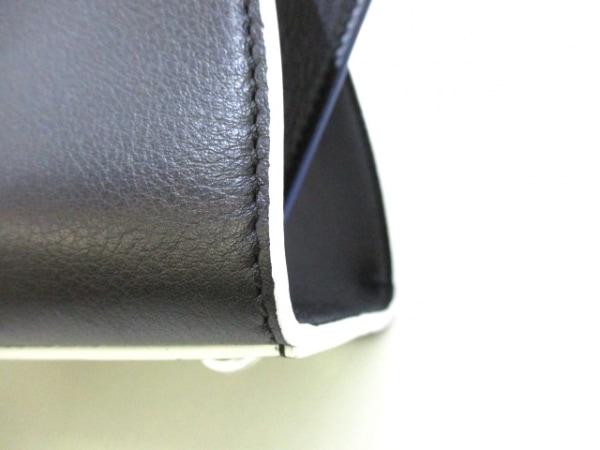 フェンディ ハンドバッグ美品  プチトロワジュール 8BH333-5C3 黒 7