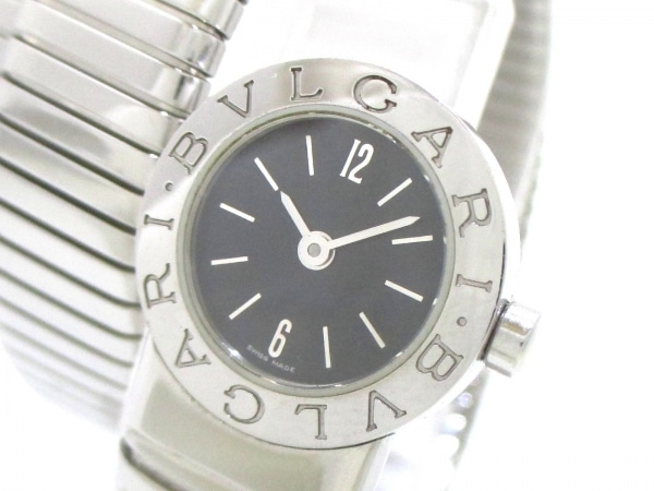 ブルガリ 腕時計美品  ブルガリブルガリ トゥボガススネーク BB191TS 0