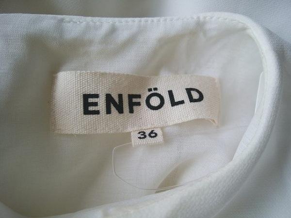 エンフォルド オールインワン サイズ36 S レディース ネイビー×白 4