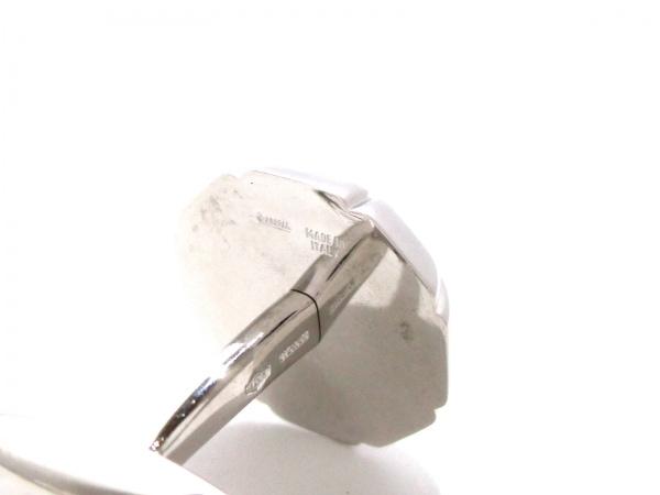 ブルガリ カフス美品  K18WG×ダイヤモンド 2Pダイヤ/1P約0.1ct 5