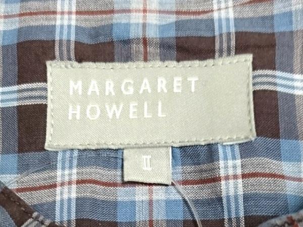 マーガレットハウエル 七分袖シャツブラウス サイズ2 M レディース 3
